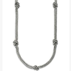 RALPH LAUREN KNOTTED NECKLACE